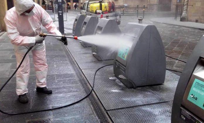 disinfestazione sanificazione strade coronavirus Alia Firenze