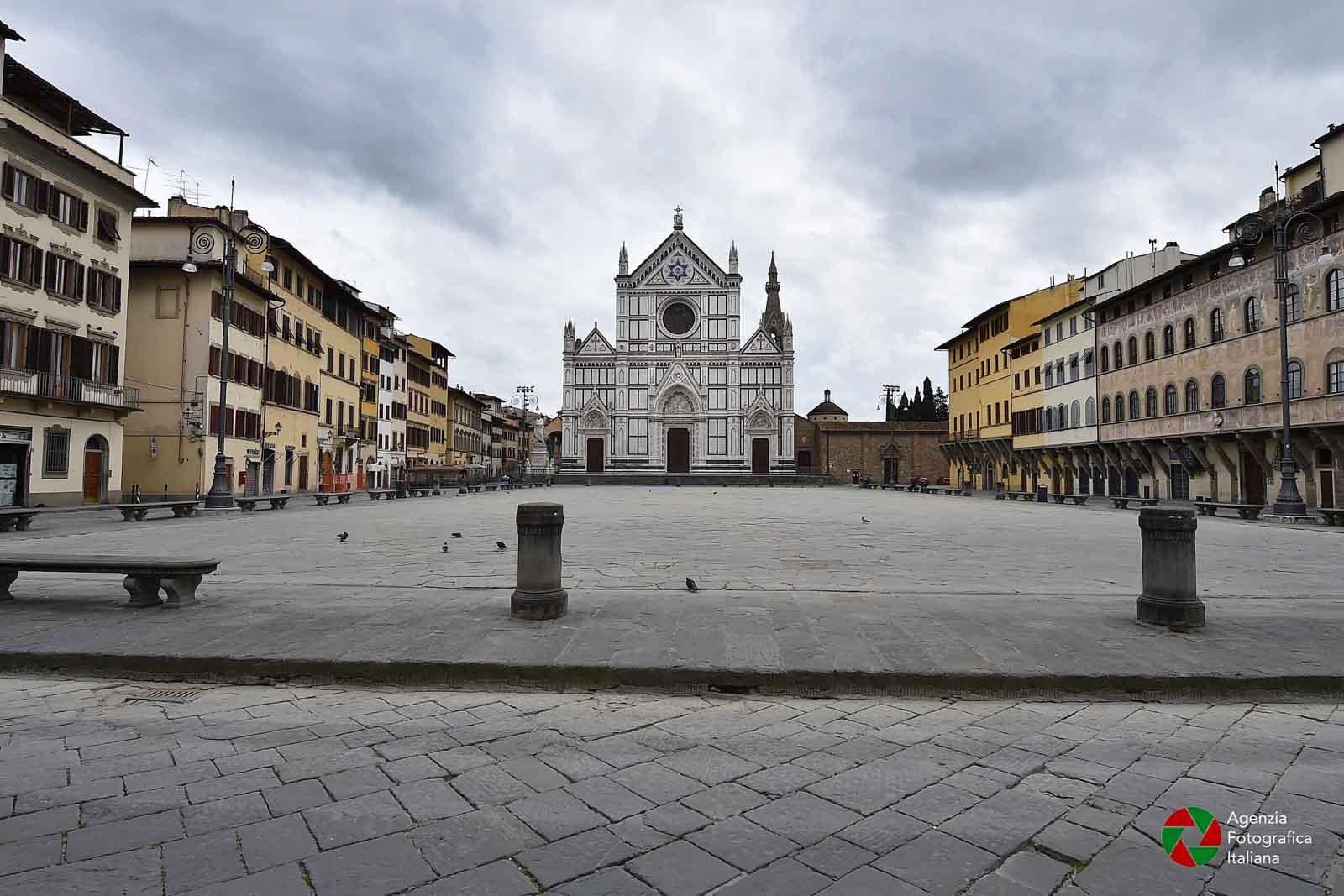 Firenze deserta nei giorni del coronavirus - Le foto