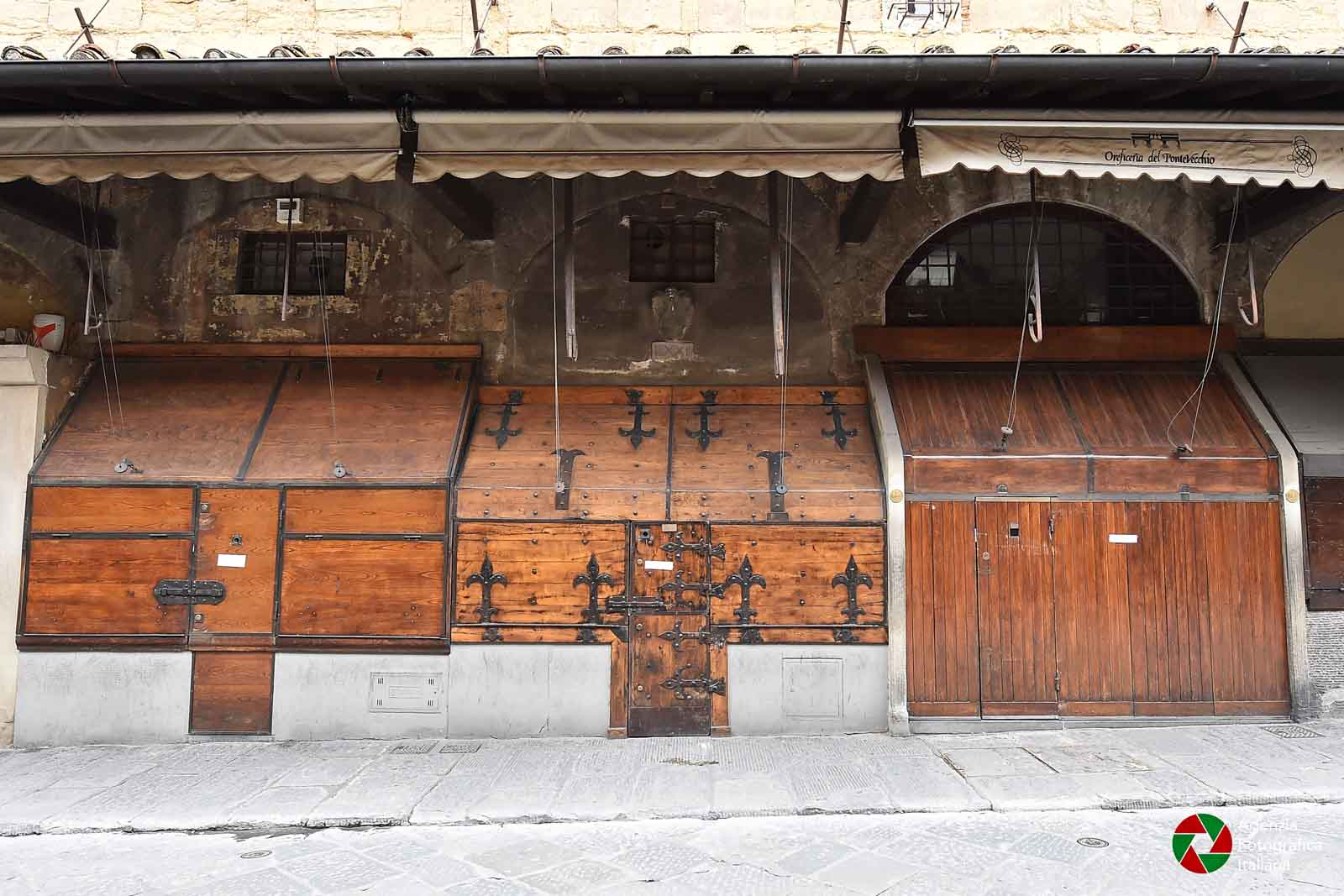 Firenze: strade e piazze del centro deserte nei giorni del coronavirus