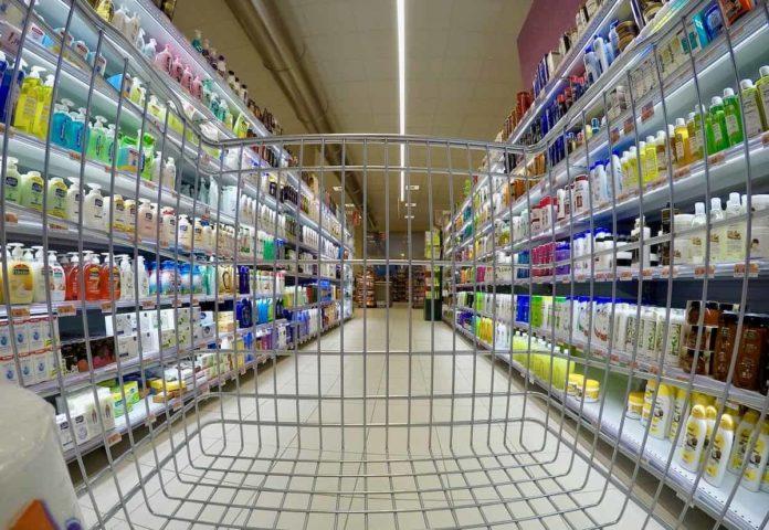 spesa fuori comune supermercato