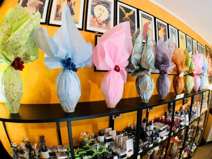 Uova Pasqua consegna domicilio Firenze pasticceria
