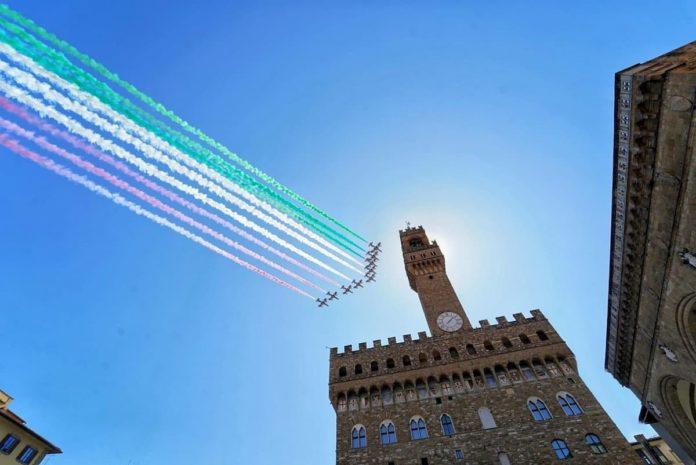Frecce tricolori 2020 programma orario passaggio oggi