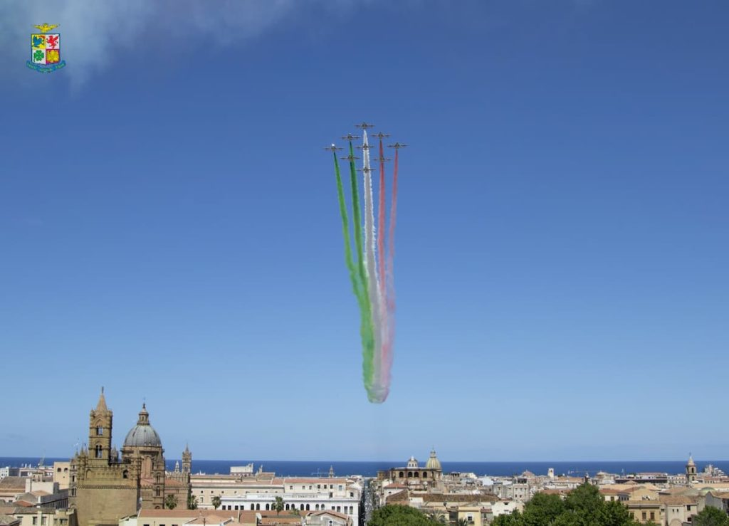 Frecce tricolori dove vederle oggi