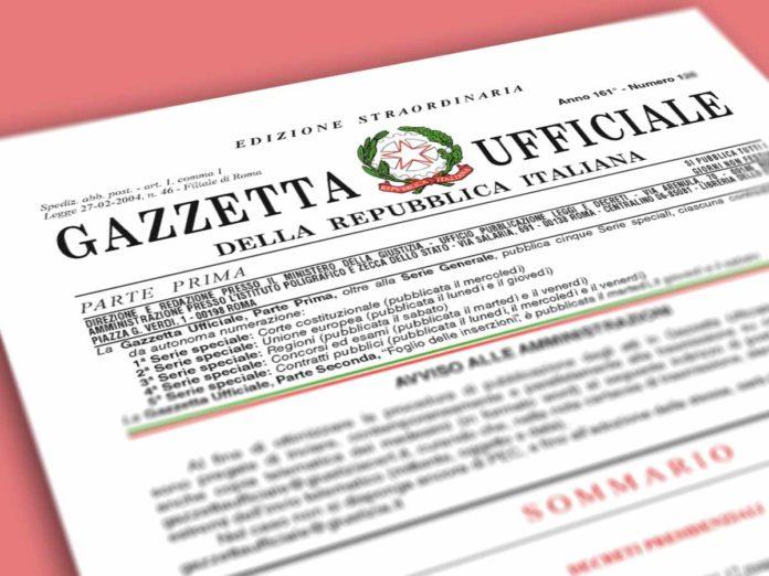 Decreto rilancio, il testo in Gazzetta ufficiale (pdf)