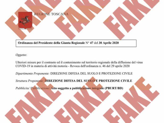 Passeggiate vietate? No, è un fake: la falsa ordinanza della Regione Toscana che gira sul web