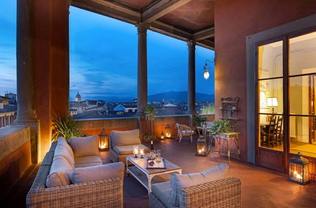 Rooftop bar hotel Palazzo Guadagni