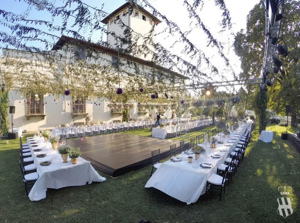 Ristorante locali aperto Firenze dintorni Villa Corsini eventi 2020