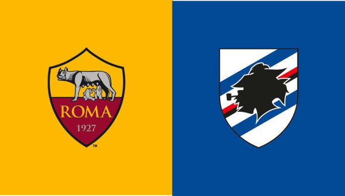 dove vedere roma Sampdoria in tv: sky o dazn