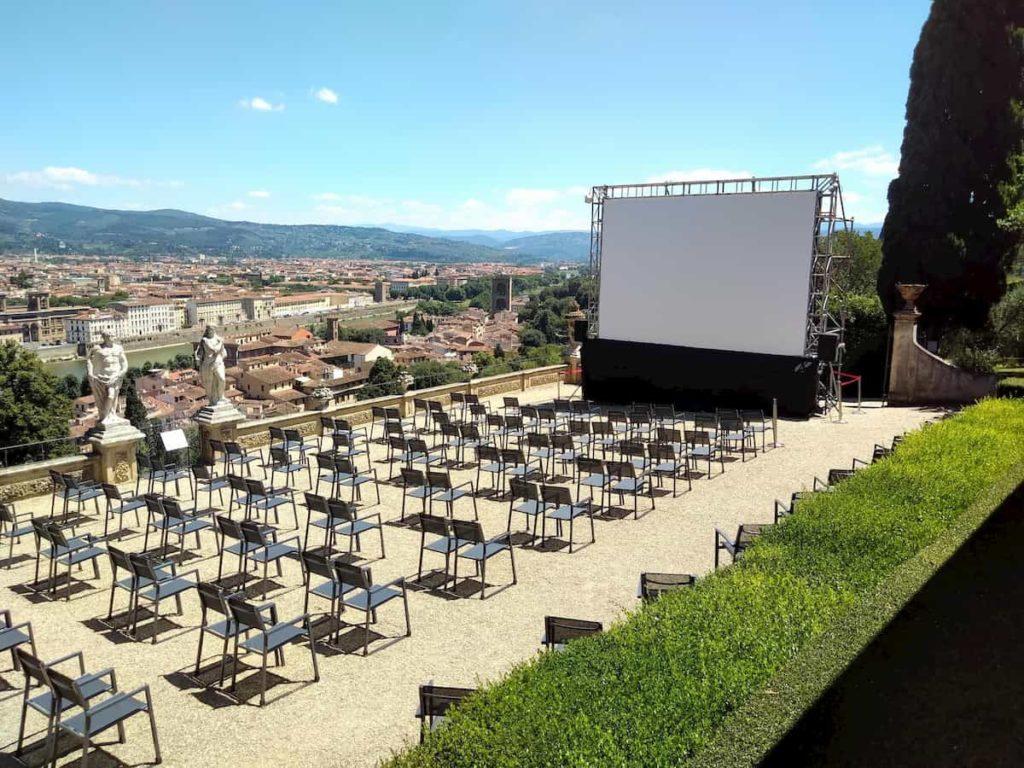 Cinema Villa Bardini Firenze 2020 programmazione arena estiva