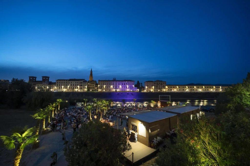 Spiaggetta Firenze 2021 spazi estivi