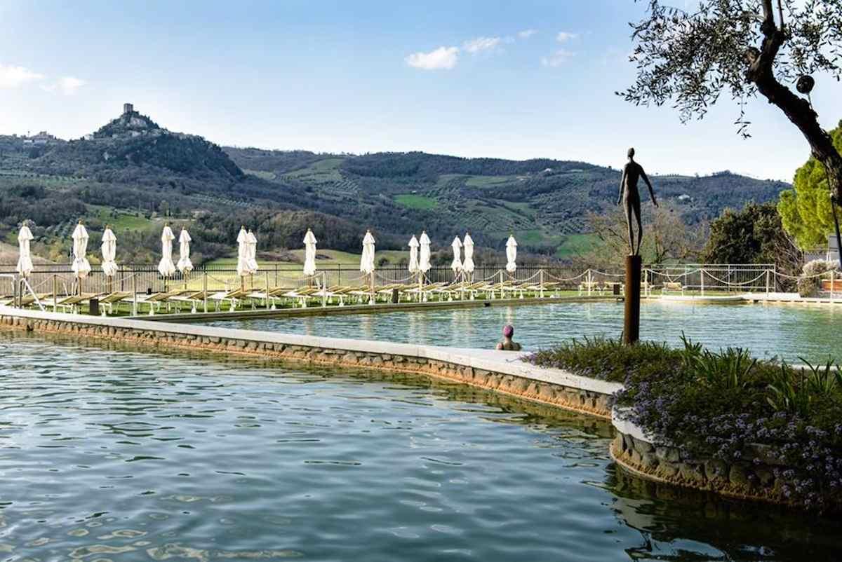 Bagno Vignoni Terme Toscana Siena