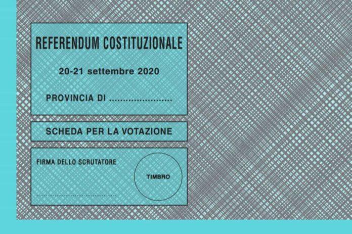 Referendum 2020 testo integrale legge riforma completo