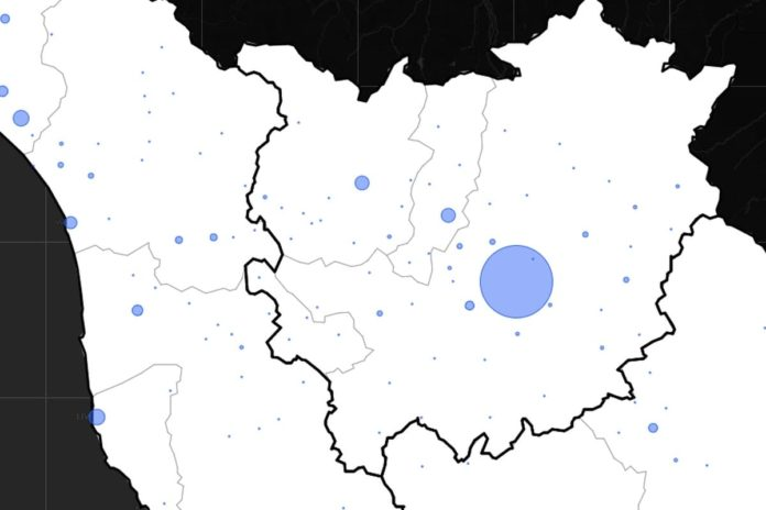 Coronavirus Toscana Firenze 8 settembre bollettino dati