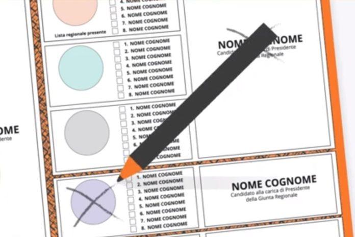 Come si vota elezioni regionali toscana preferenze voto disgiunto