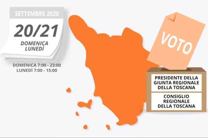 Elezioni regionali Toscana 2020 come si vota quando date orari
