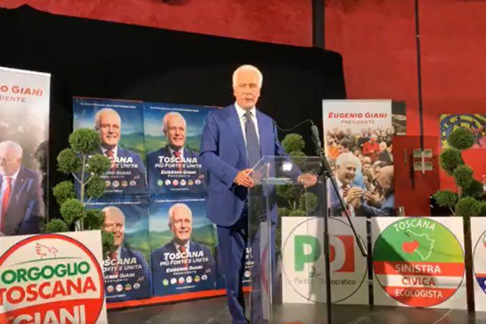 Eugenio Giani Toscana chi ha vinto regionali