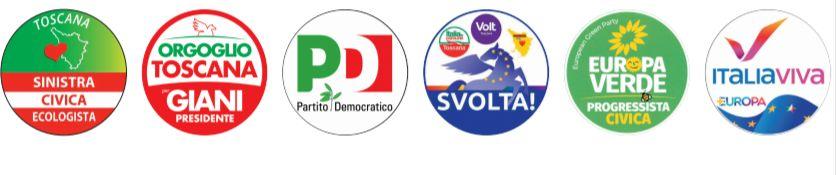 Eugenio Giani liste regionali