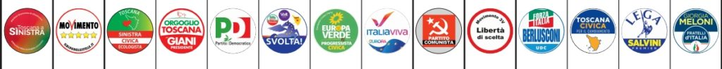 Liste circoscrizione Firenze 1 elezioni regionali toscana 2020