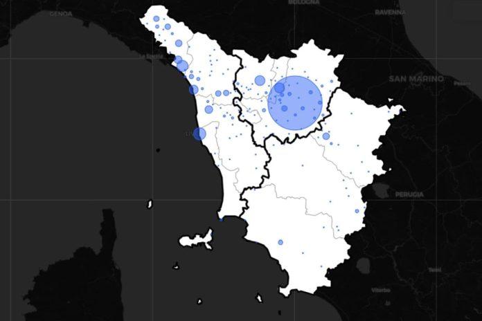 Coronavirus Toscana Covid 4 settembre 2020 contagi casi dati notizie regione