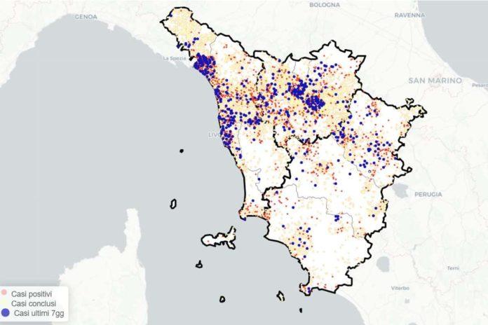 coronavirus Toscana 10 settembre notizie news dati bollettino Covid contagi