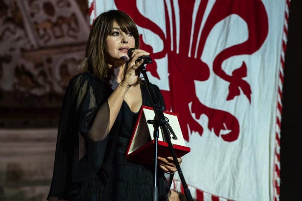 Monica Bellucci Firenze