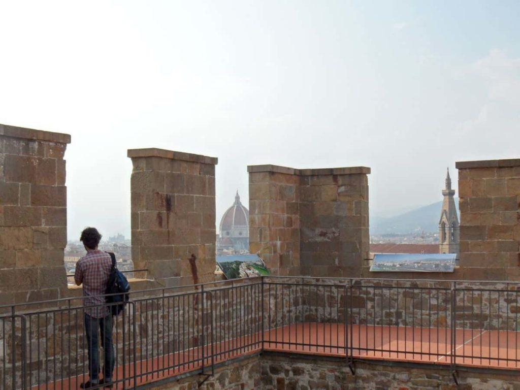 Cosa visitare Firenze Torre San Niccolò 2020 panorama