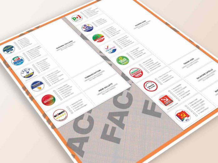 Elezioni regionali Toscana 2020, tutte le liste e i facsimile della scheda elettorale