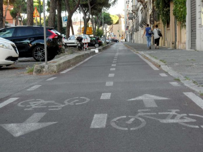 Settimana mobilità Firenze 2020 pista ciclabile