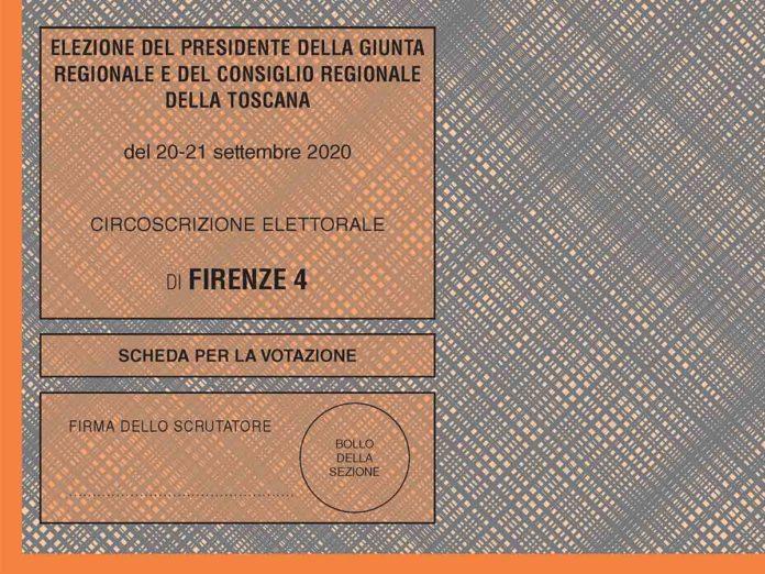 Elezioni Toscana, eletti e preferenze ai candidati di Firenze 4