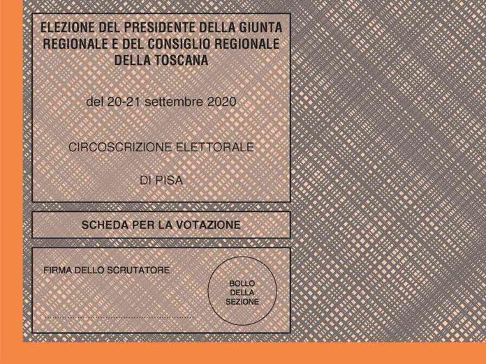Elezioni Toscana, eletti e preferenze ai candidati di Pisa