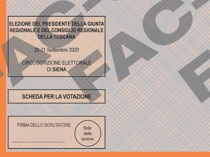 Elezioni Toscana, eletti e preferenze ai candidati di Siena