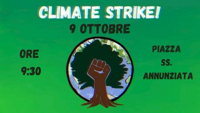Manifestazione 9 ottobre 2020 Firenze sciopero clima