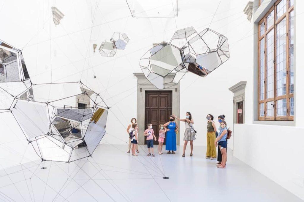 Tomás Saraceno mostre Firenze da vedere Palazzo Strozzi curiosità