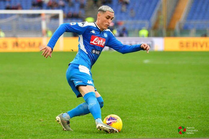 Callejón in azione con la maglia del Napoli –© Tiziano Pucci –Agenzia Fotografica Italiana