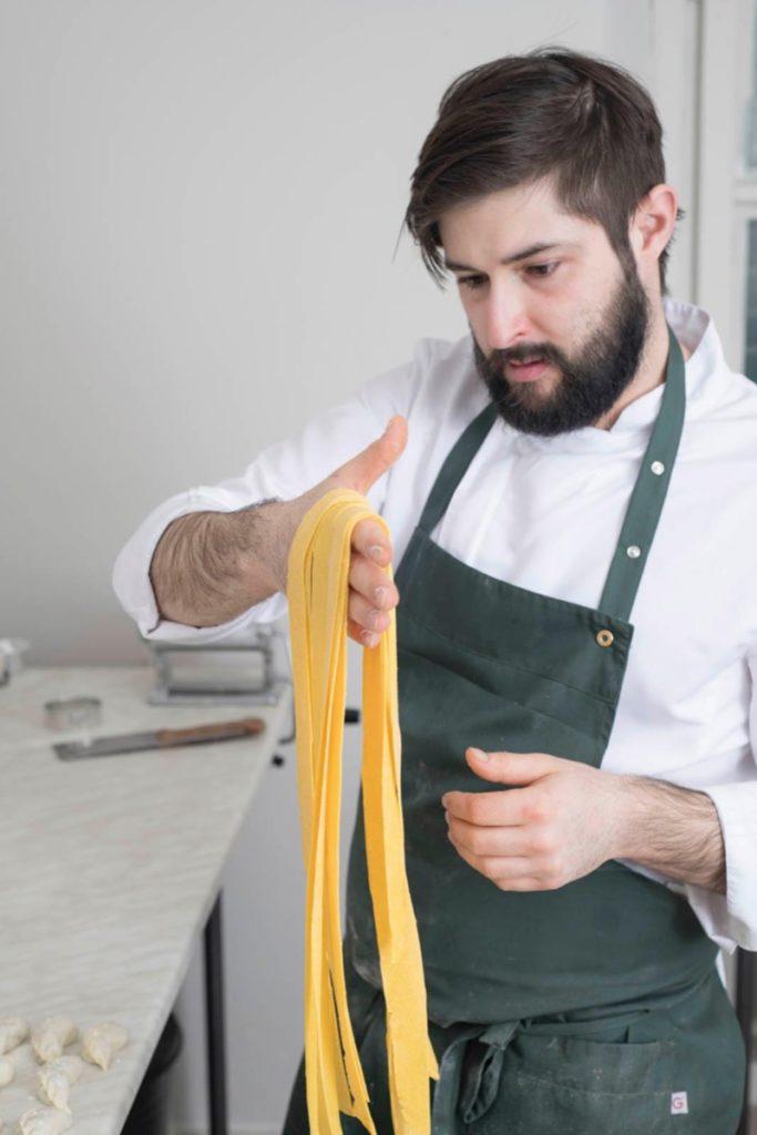 Lorenzo Romano chef insolita trattoria