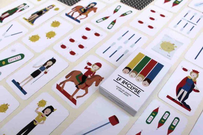 Le recluse, le carte da gioco del Coronavirus