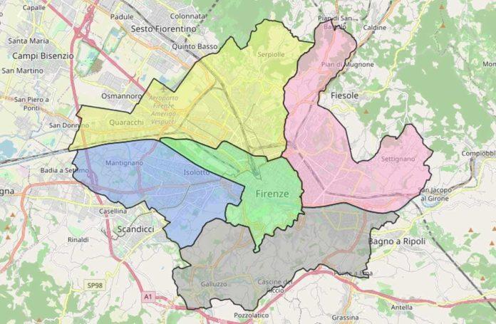 Cartina Citta Di Firenze.Confini Del Comune Di Firenze Dove Trovare La Mappa Ufficiale Interattiva