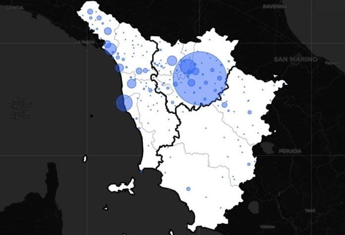 contagi toscana 13 novembre coronavirus