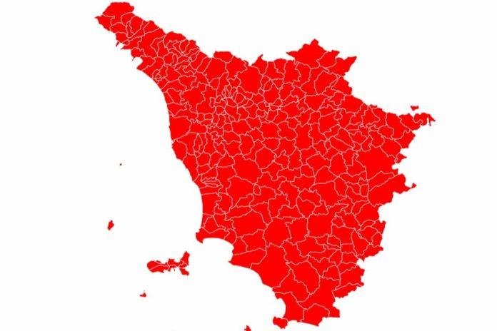 Toscana zona rossa regole cosa si può fare cambia