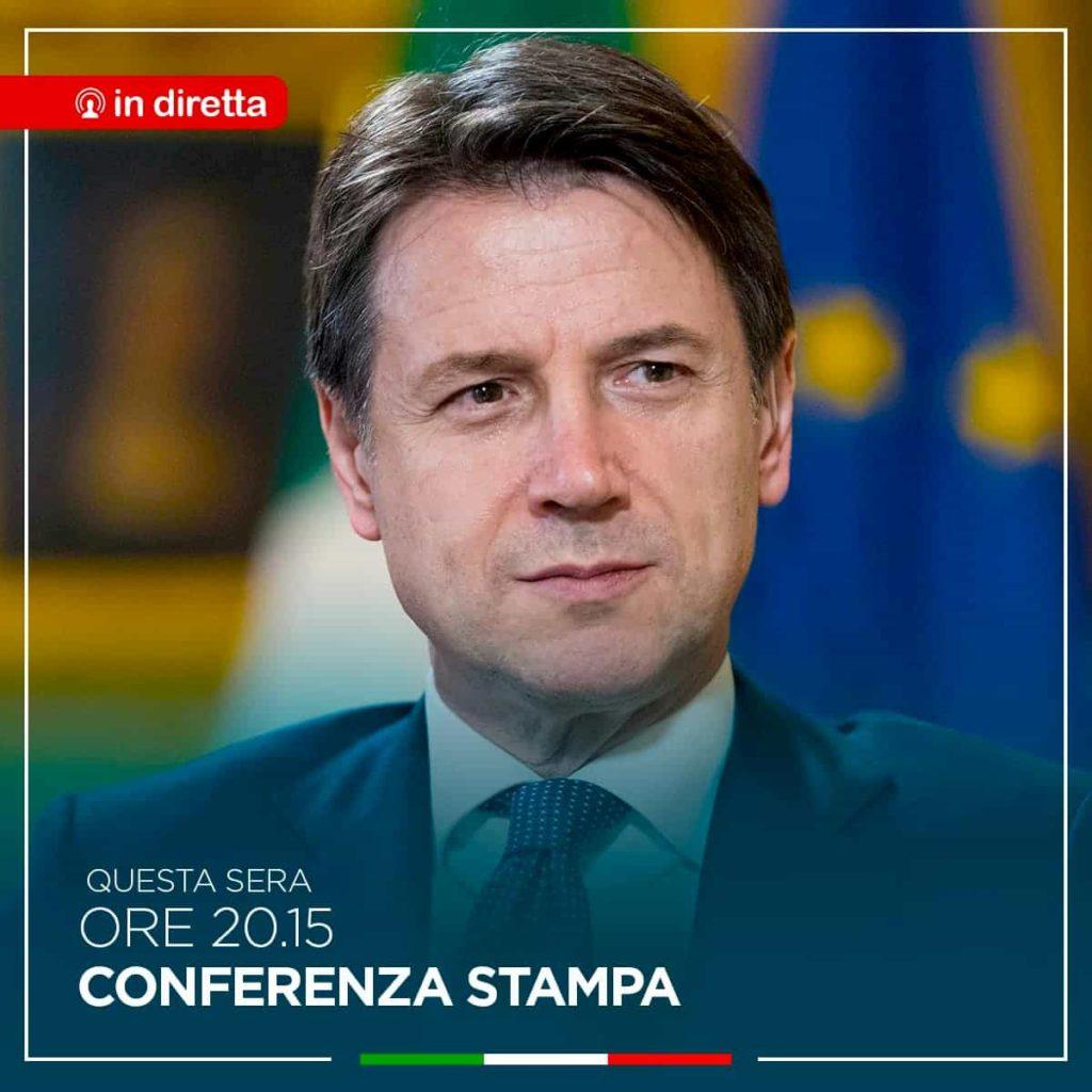 Giuseppe Conte conferenza stampa 3 dicembre tv
