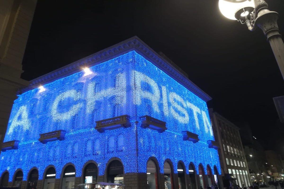 Rinascente Luminarie Firenze