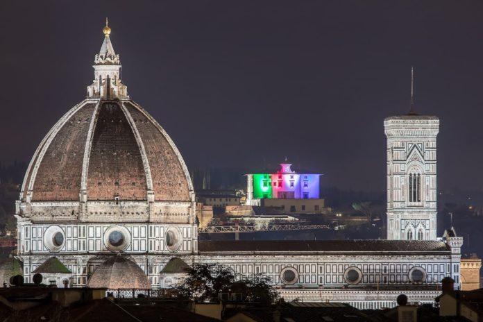 Firenze luminarie Natale 2020