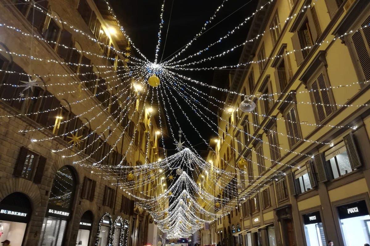 Natale 2020 Firenze Tornabuoni