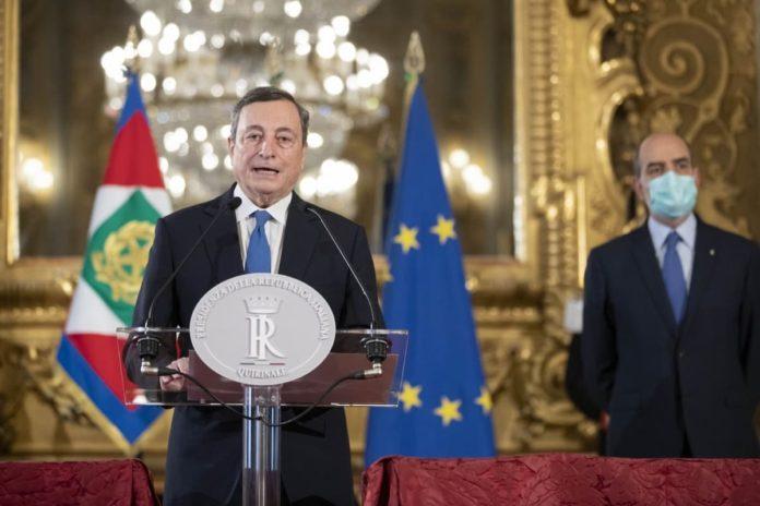 Draghi quando fiducia senato camera nuovo governo entra in carica
