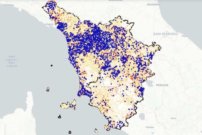 Covid Toscana 11 febbraio casi contagi dati bollettino regione coronavirus