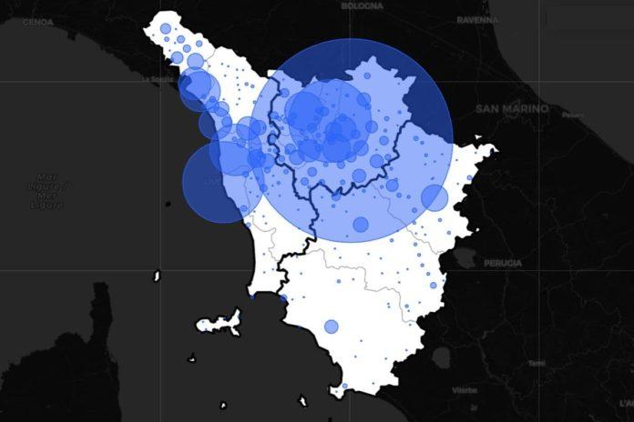 Contagi oggi Toscana 19 febbraio covid dati casi coronavirus bollettino