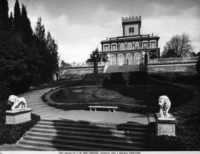 Villa Fabbricotti Fondazione Alinari archivio