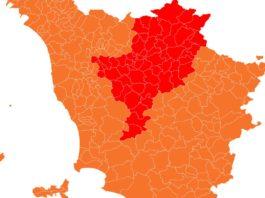zone rosse locali Toscana 12 17 aprile 2021 comuni rossi province quali sono fino quando