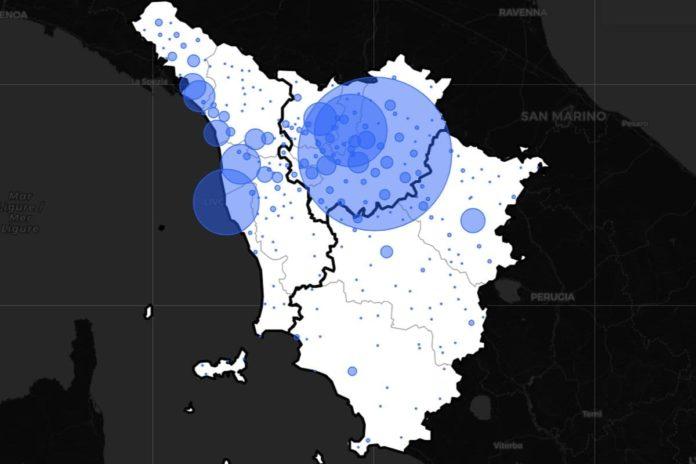 Toscana zona rossa da quando rischio dal 29 marzo Covid