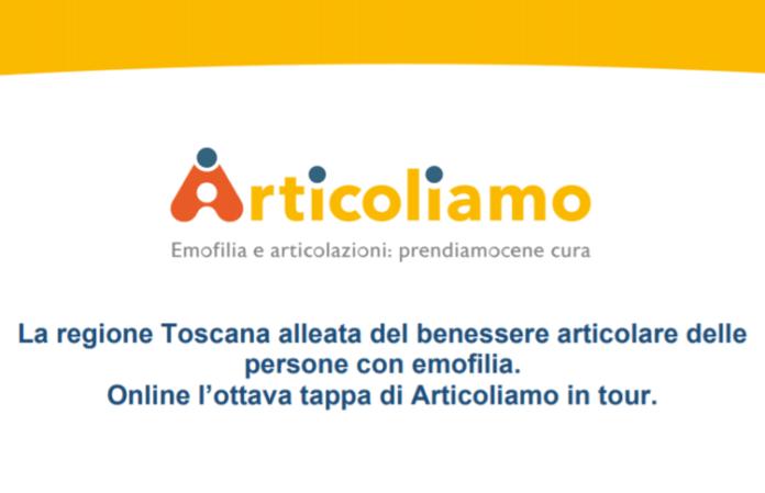 Campagna su salute articolare emofilici fa tappa in Toscana